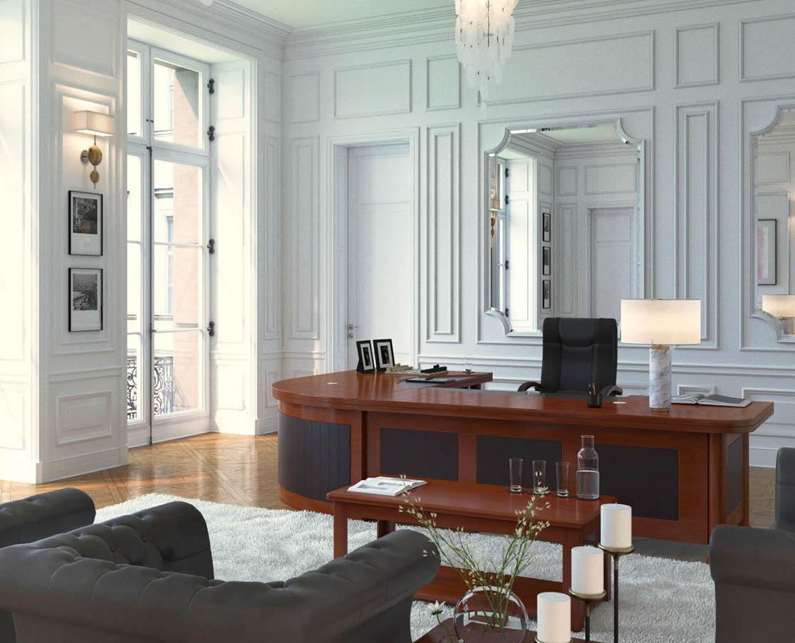 Möbel für die Einrichtung von Anwaltskanzleien