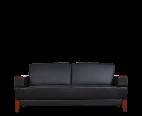 3-Sitzer Sofa PORTER Schwarz