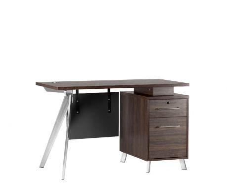 Schreibtisch mit Container PLATINUM 12A 120 cm
