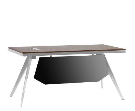 Schreibtisch mit Container PLATINUM 16B 160 cm