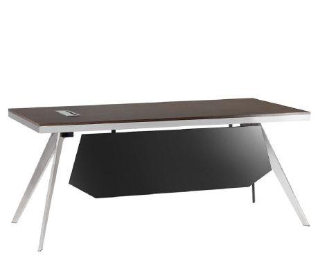 Schreibtisch mit Container PLATINUM 18B 180 cm