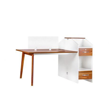 Moderner Schreibtisch für 2 Personen EVOLUTIO B305-2