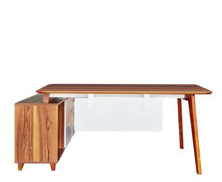 Moderner Schreibtisch mit Sideboard EVOLUTIO A609 160cm