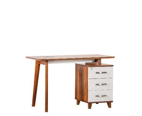 Moderner Schreibtisch mit Container EVOLUTIO TB-0F 120cm