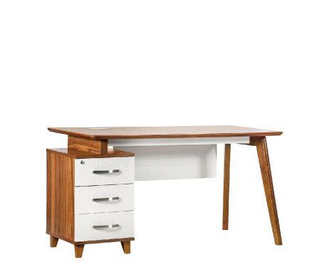 Moderner Schreibtisch mit Container EVOLUTIO TB-0F 140cm
