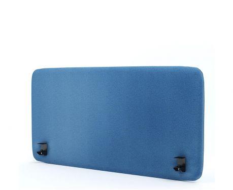 Akustik-Trennwand für den Schreibtisch 120x60 blaue
