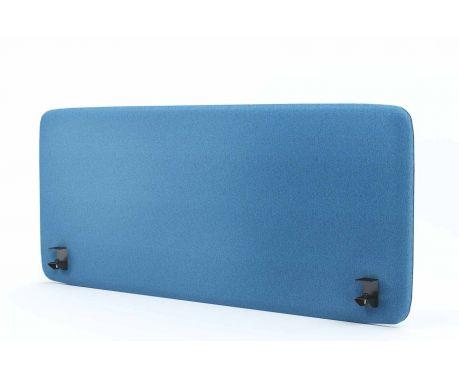 Akustik-Trennwand für den Schreibtisch 140x60 blaue