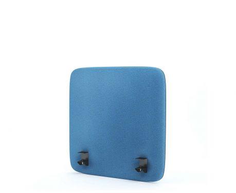Akustik-Trennwand für den Schreibtisch 60x60 blaue