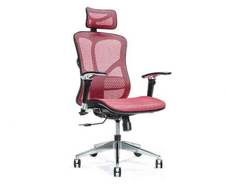 Ergonomischer Bürosessel ERGO 500 Rot