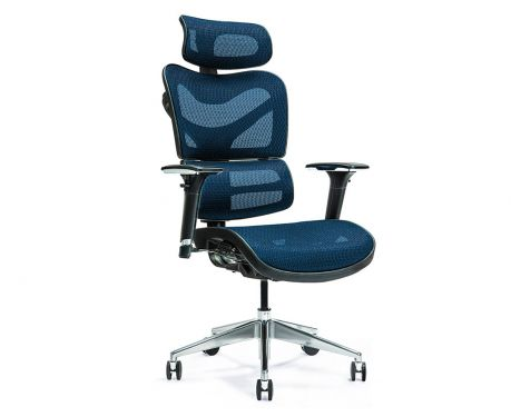 Ergonomischer Bürosessel ERGO 600 Blau