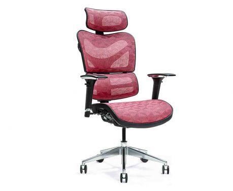 Ergonomischer Bürosessel ERGO 600 Rot