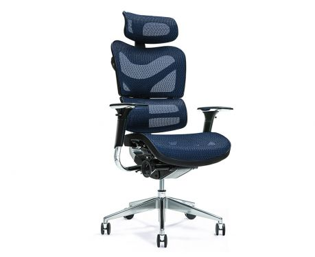 Ergonomischer Bürosessel ERGO 700 Blau