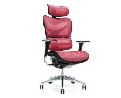 Ergonomischer Bürosessel ERGO 700 Rot