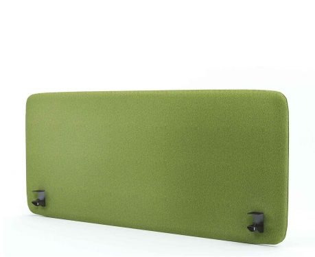 Akustik-Trennwand für den Schreibtisch 140x60 olivgrün