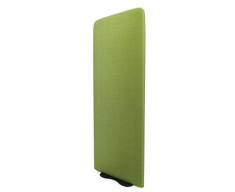 Freistehende Akustikplatte 160x60 olivgrün
