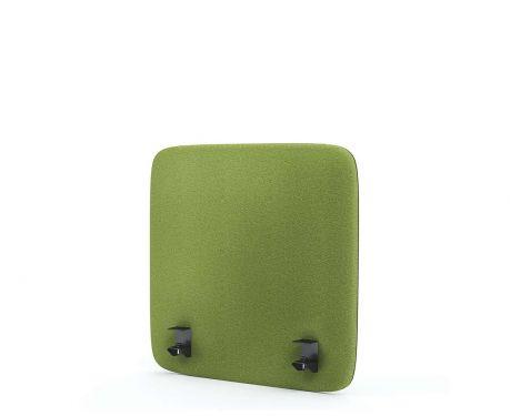 Akustik-Trennwand für den Schreibtisch 60x60 olivgrün