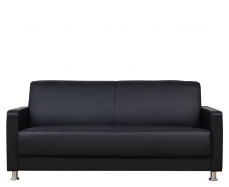 3-Sitzer Sofa HELIOS Schwarz