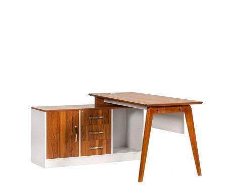 Schreibtisch mit Sideboard EVOLUTIO A909B 140cm