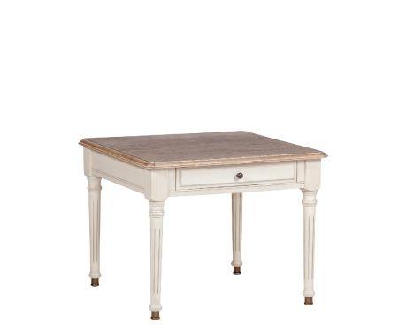 Tisch NEGRE Nuss / Ecru