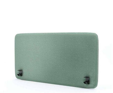 Akustik-Trennwand für den Schreibtisch 120x60 Minze
