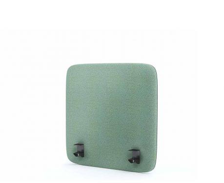 Akustik-Trennwand für den Schreibtisch 60x60 Minze