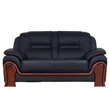 2-Sitzer Sofa PALLADIO Schwarz
