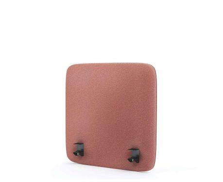 Akustik-Trennwand für den Schreibtisch 60x60 Rosa