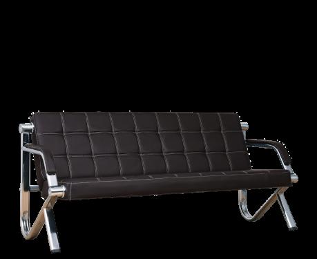 3-Sitzer Sofa STILIO PLUS Schwarz