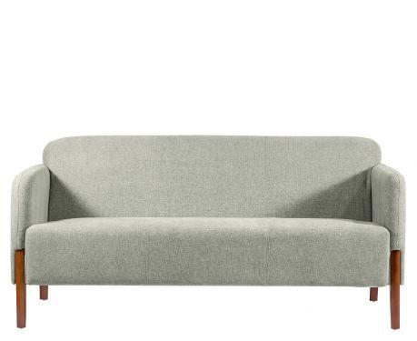3-Sitzer Sofa FUSION Hellgrau