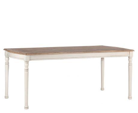 Tisch DENIS Nuss / Ecru