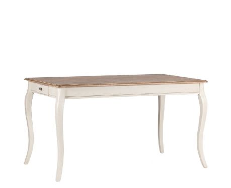 Tisch LEGER Nuss / Ecru