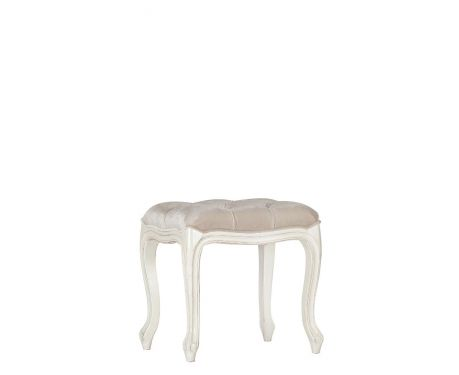 Hocker ESTELLE Blanc