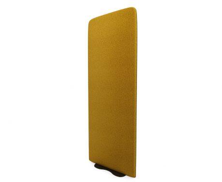Freistehende Akustikplatte 160x60 Ocker